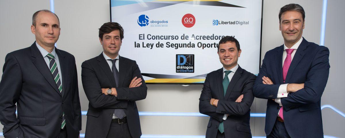 GO Legal Solutions analiza la LEy de Segunda Oportunidad en Diálogos en Libertad
